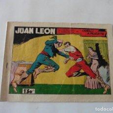 Tebeos: JUAN LEON Nº 15 ORIGINAL. Lote 122329971
