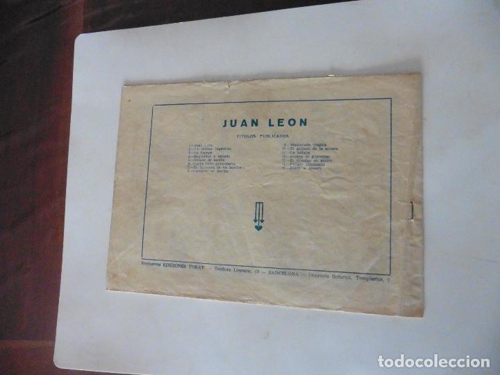 Tebeos: JUAN LEON Nº 15 ORIGINAL - Foto 2 - 122329971