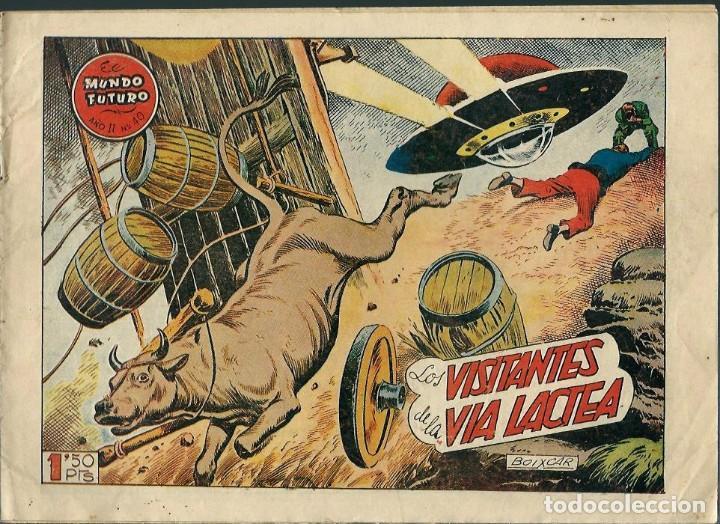 BOIXCAR - LOS VISITANTES DE LA VIA LACTEA - COL. EL MUNDO FUTURO Nº 40 - TORAY 1955 - ORIGINAL (Tebeos y Comics - Toray - Mundo Futuro)