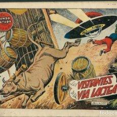 Tebeos: BOIXCAR - LOS VISITANTES DE LA VIA LACTEA - COL. EL MUNDO FUTURO Nº 40 - TORAY 1955 - ORIGINAL. Lote 122567799