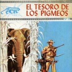 Tebeos: LEOPARDO- Nº 11 - EL TESORO DE LOS PIGMEOS - 1971- GRAN JOSÉ DUARTE- BUENO-DIFÍCIL-LEAN-1528. Lote 171127679