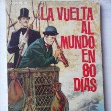 Tebeos: NOVELAS GRÁFICAS CLÁSICAS Nº 8 - TORAY 1963 - JULIO VERNE - LA VUELTA AL MUNDO EN 80 DÍAS. Lote 122827359