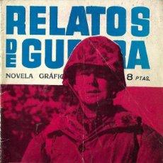 Tebeos: RELATOS DE GUERRA Nº 7 - TOQUE DE SILENCIO - TORAY 1962 . Lote 123527359