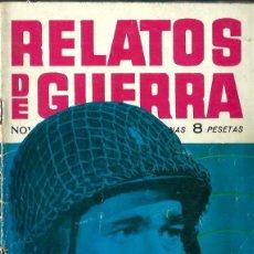 Tebeos: RELATOS DE GUERRA Nº 8 - ONDAS MORTALES - TORAY 1962 . Lote 123527455