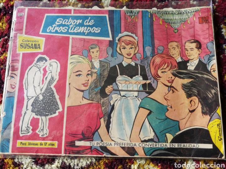 COLECCIÓN SUSANA- SABOR DE OTROS TIEMPOS, N°123. (Tebeos y Comics - Toray - Susana)