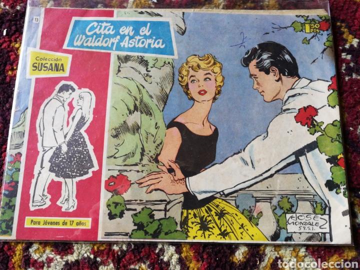 COLECCIÓN SUSANA- CITA EN EL WALDORF ASTORIA, N°13. (Tebeos y Comics - Toray - Susana)