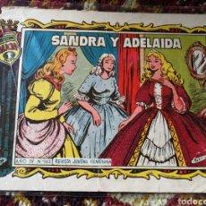 Tebeos: COLECCIÓN ALICIA- SANDRA Y ADELAIDA N°163, EDICIONES TORAY.. Lote 124182638
