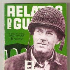 Tebeos: RELATOS DE GUERRA Nº 55 - EL PUENTE - TORAY - RELATOS GRÁFICOS DE GUERRA 1964 - 8 PTS. Lote 124461747