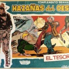 Tebeos: COMPLEMENTO SEMANAL N°10 HAZAÑAS DEL OESTE 1959. Lote 125401270