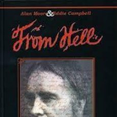 Tebeos: FROM HELL. ALAN MOORE. Lote 125840559