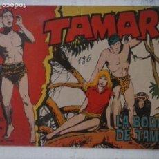 Tebeos: TAMAR ORIGINAL Nº 186 Y ÚLTIMO DE LA COLECCIÓN, DIFICIL - EDI. TORAY 1961. Lote 125853055