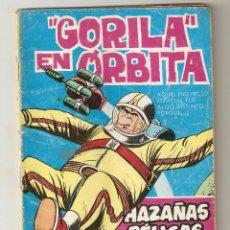 Tebeos: HAZAÑAS BELICAS - EXTRA Nº 170 - ''GORILA'' EN ORBITA - EDICIONES TORAY - 1965 - 5 PTS -. Lote 125962063