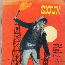 Tebeos: NOVELA GRAFICA PARA ADULTOS SIOUX *** LOS PODEROSOS *** EDICIONES TORAY NÚMERO 43 AÑO 1965. Lote 126181971