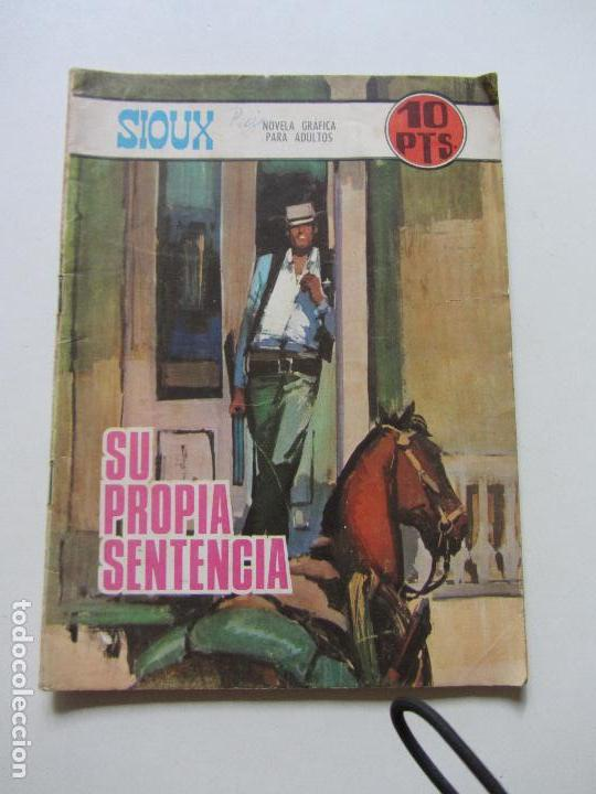 SIOUX Nº 92 EDI. TORAY 1967 NOVELA GRAFICA PARA ADULTOS TORAY CS131 (Tebeos y Comics - Toray - Sioux)