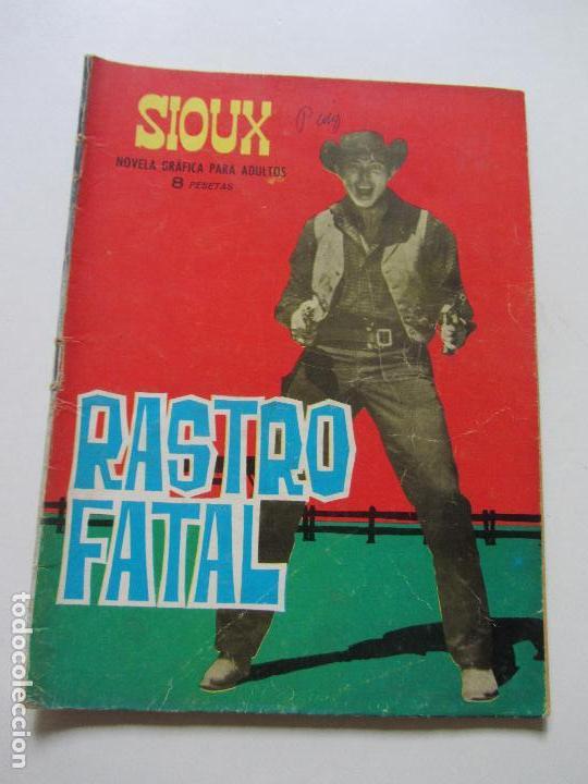 SIOUX Nº 35 RASTRO FATAL NOVELA GRAFICA PARA ADULTOS TORAY CS131 (Tebeos y Comics - Toray - Sioux)
