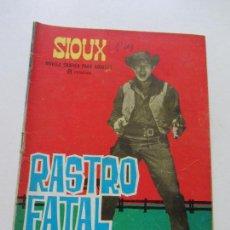 Tebeos: SIOUX Nº 35 RASTRO FATAL NOVELA GRAFICA PARA ADULTOS TORAY CS131. Lote 126253955