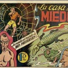 Tebeos: COMIC ORIGINAL LA VUELTA AL MUNDO DE DOS MUCHACHOS Nº 9 EDITORIAL TORAY. Lote 150946890