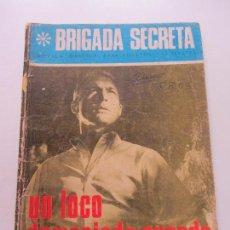Tebeos: BRIGADA SECRETA Nº 192: UN LOCO DEMASIADO CUERDO TORAY CS132. Lote 126356815