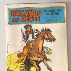 Tebeos: HAZAÑAS DEL OESTE - Nº 213 - ORO EN LA MONTAÑA - TORAY 1959 - 6 PTS -. Lote 126870399