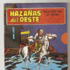 Tebeos: HAZAÑAS DEL OESTE - Nº 214 - ENCERRONA - TORAY 1959 - 6 PTS -. Lote 126870503