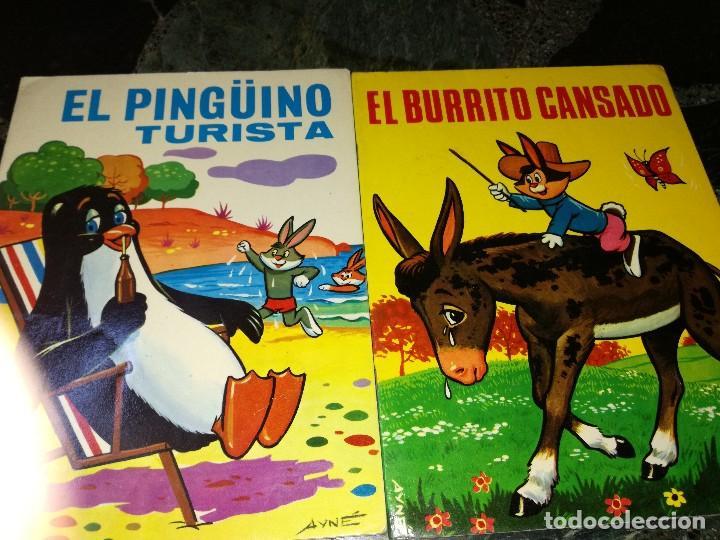 EL BURRITO CANSADO Y EL PINGÜINO TURISTA (Tebeos y Comics - Toray - Cuentos de la Abuelita)