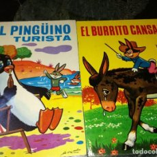 Tebeos: EL BURRITO CANSADO Y EL PINGÜINO TURISTA. Lote 126872171