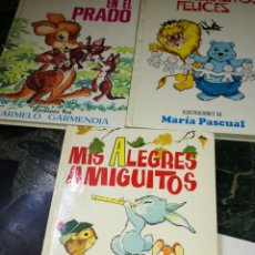 Tebeos: LOTE DE 3 CUENTOS ILUSTRADOS. Lote 126873415