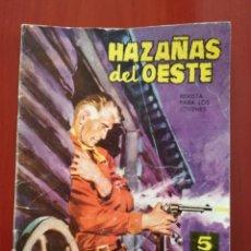 Tebeos: HAZAÑAS DEL OESTE N° 58. Lote 126962998
