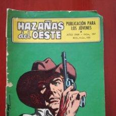 Tebeos: HAZAÑAS DEL OESTE, N°197. Lote 126981471