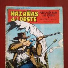 Tebeos: HAZAÑAS DEL OESTE, N° 156. Lote 126984199