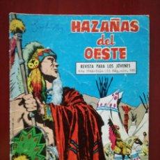 Tebeos: HAZAÑAS DEL OESTE, N° 125. Lote 127003372