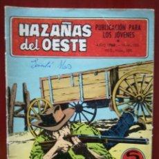 Tebeos: HAZAÑAS DEL OESTE, N°155. Lote 127003668