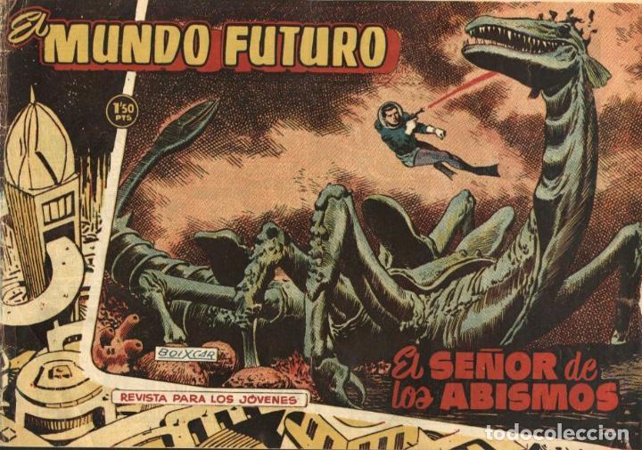 EL MUNDO FUTURO-68 (TORAY, 1955) DE BOIXCAR (Tebeos y Comics - Toray - Mundo Futuro)