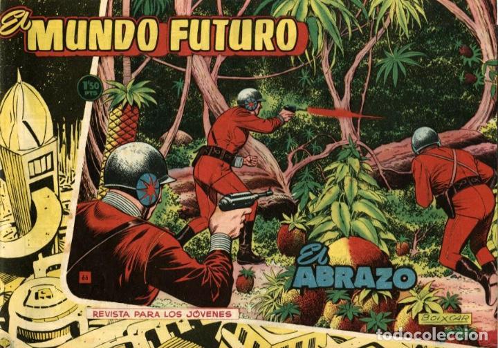 EL MUNDO FUTURO-66 (TORAY, 1955) DE BOIXCAR (Tebeos y Comics - Toray - Mundo Futuro)