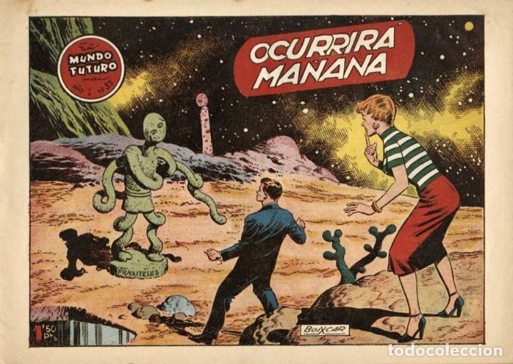 EL MUNDO FUTURO-35 (TORAY, 1955) DE BOIXCAR (Tebeos y Comics - Toray - Mundo Futuro)