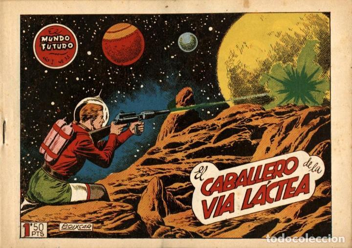 EL MUNDO FUTURO-33 (TORAY, 1955) DE BOIXCAR (Tebeos y Comics - Toray - Mundo Futuro)