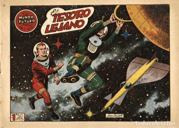 EL MUNDO FUTURO-32 (TORAY, 1955) DE BOIXCAR (Tebeos y Comics - Toray - Mundo Futuro)