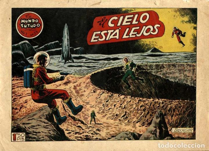 EL MUNDO FUTURO-23 (TORAY, 1955) DE BOIXCAR (Tebeos y Comics - Toray - Mundo Futuro)