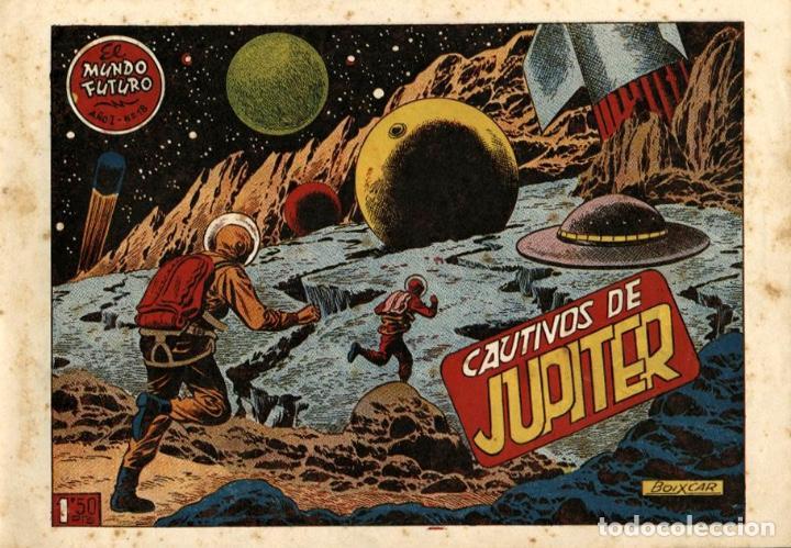 EL MUNDO FUTURO-18 (TORAY, 1955) DE BOIXCAR (Tebeos y Comics - Toray - Mundo Futuro)