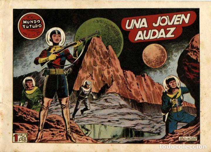 EL MUNDO FUTURO-24 (TORAY, 1955) DE BOIXCAR (Tebeos y Comics - Toray - Mundo Futuro)