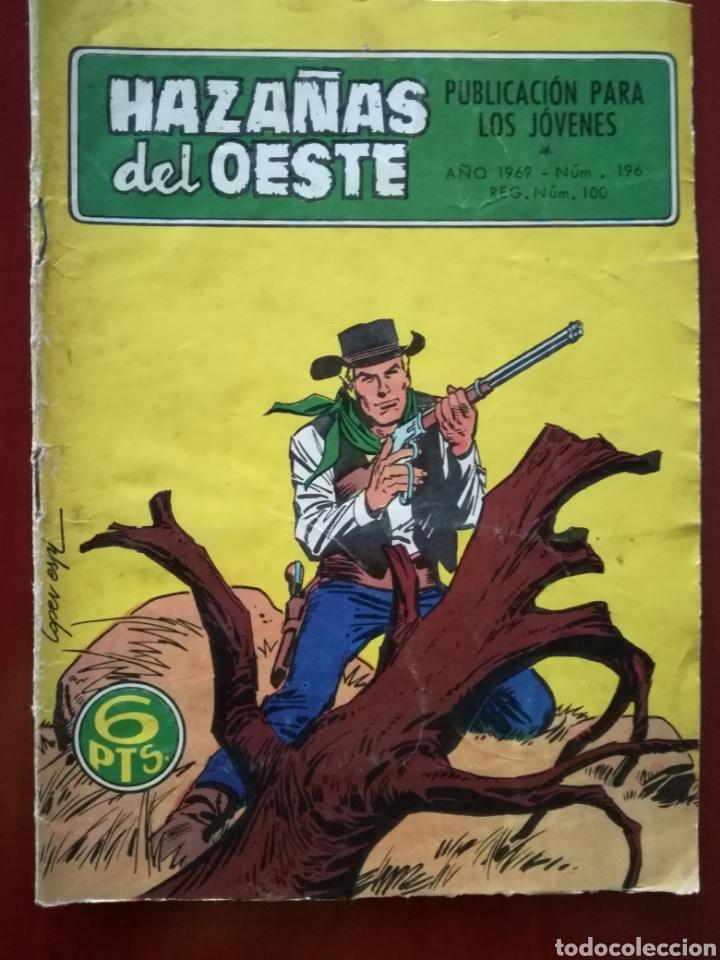 HAZAÑAS DEL OESTE, N° 196 (Tebeos y Comics - Toray - Hazañas del Oeste)