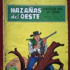 Tebeos: HAZAÑAS DEL OESTE, N° 196. Lote 127121204
