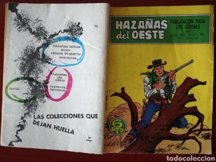 Tebeos: HAZAÑAS DEL OESTE, n° 196 - Foto 3 - 127121204