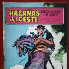 Tebeos: HAZAÑAS DEL OESTE, N°206. Lote 127121722