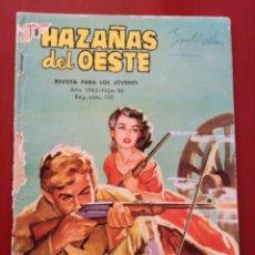 Tebeos: HAZAÑAS DEL OESTE, N°86. Lote 127207966