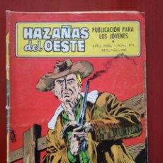 Tebeos: HAZAÑAS DEL OESTE, N°175. Lote 127211183