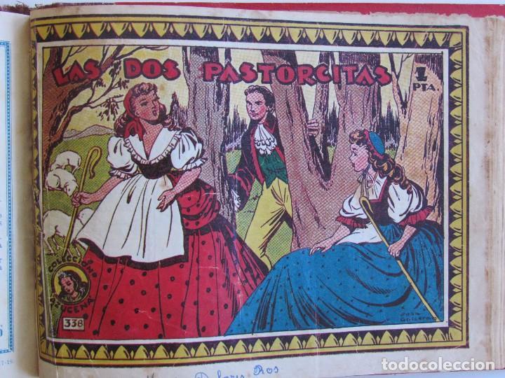 COLECCION ORIGINAL AZUCENA ENCUADERNADA DE 40 TEBEOS. EDITORIAL TORAY, AÑOS -50-60. (Tebeos y Comics - Toray - Azucena)