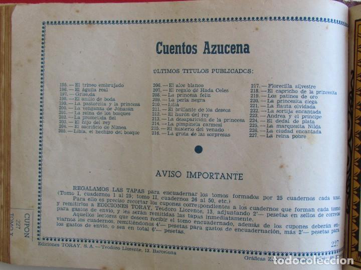 Tebeos: COLECCION ORIGINAL AZUCENA ENCUADERNADA DE 40 TEBEOS. EDITORIAL TORAY, AÑOS -50-60. - Foto 4 - 127636095