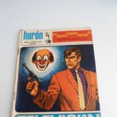 Tebeos: HURON Nº 33 - TELEVISION PIRATA - EDICIONES TORAY 1968 - COMPLETO. Lote 127682727