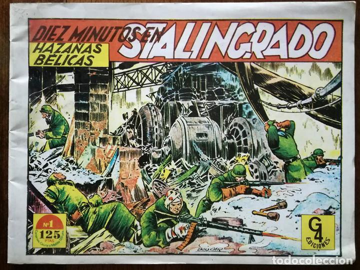 HAZAÑAS BÉLICAS Nº 1 NUEVO DIEZ MINUTOS EN STALINGRADO G4 EDICIONES 1987 (Tebeos y Comics - Toray - Hazañas Bélicas)